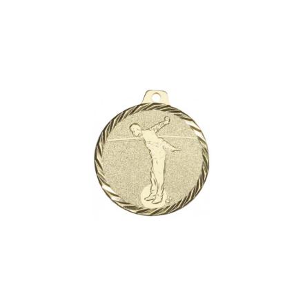 Medaljer till boulespelare