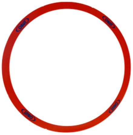 Utkastring Obut röd